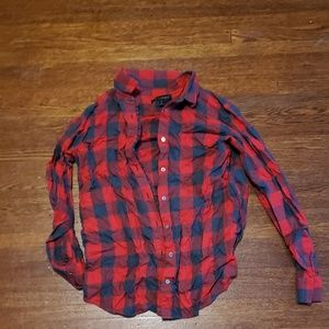 Red Buffalo Plaid Button Up